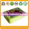 Blik van het Tin van de Doos van de Verpakking van het voedsel het Rechthoekige voor de Doos van het Suikergoed van het Metaal