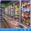 Cabina del congelador del medio refrigerador de la refrigeración por aire media para el supermercado
