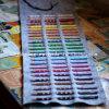 Roll up Felt Pencil Bag/Pencil Case/Pen Pouch
