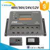 RS485 Vs3048bnの30A 12V/24V/36V/48V LCDの太陽料金か充満コントローラ