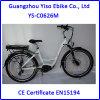 Movimentação máxima da bicicleta de E com frame da liga de alumínio