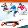 Skate elétrico elétrico impulsionado forma do trotinette do retrocesso rapidamente para adultos