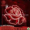 La lettera del fenicottero di illuminazione della decorazione dell'indicatore luminoso al neon della Rosa
