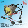 Motor van het Gaspedaal van de Motoronderdelen van het Graafwerktuig Yt13e0108sp1 Sk200-6e Sk230-6e van Kobelco Yn20s00002f1 de GraafElektrische
