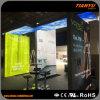 Cabine d'exposition de cadre léger pour le salon