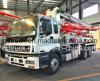 pompe concrète montée par camion de 37M, camion de pompe concrète d'ISUZU