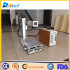 Máquina portable de la etiqueta de plástico del laser de la fibra del CNC para la venta