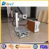 휴대용 소형 CNC 섬유 Laser 표하기 기계 110*110 30W