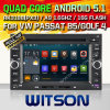 Carro DVD do Android 5.1 de Witson para o golfe 4 da VW (W2-F9245V)