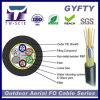 24 núcleo no metálico gyfty cable aéreo de fibra óptica