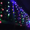 Decorazione di vendita all'ingrosso della festa di Natale del ghiacciolo della finestra per la decorazione del giardino