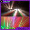 4in1 de LEIDENE 8X10W RGBW Bewegende HoofdStraal van de Spin
