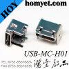 Intensifiant le type connecteur USB de micro de SMT 5pin
