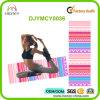 Esteras coloridas profesionales de la yoga de Chevron del caucho natural de la calidad