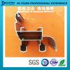 Porte en aluminium en aluminium de guichet de profil de fabrication pour le marché de l'Afrique Libye