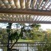 Giardino di tetto dello schermo del Pergola