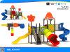 Campo de jogos plástico da corrediça do parque de diversões (YL24484)