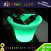 Bar Party RVB Round Wine Beer LED Ice Bucket