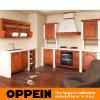 Oppein標準的なBlumの合板の食器棚(OP10-X088)