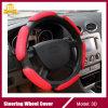 Heet verkoop 3D Zacht wat betreft de Dekking van het Stuurwiel van de Auto van het Suède van het Netwerk