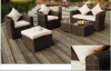 2016 최신 판매 쌓을수 있는 옥외 정원 고리 버들 세공 등나무 의자