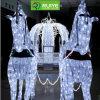 Navidad decorativo con motivos de luz de fábrica