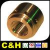 Piezas de torneado del CNC del cobre Polished para la máquina de la asamblea de la automatización