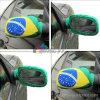 Изготовленный на заказ флаг носка крышки зеркала автомобиля ткани напряжения печатание
