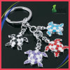 Tortoise Shape Cute Animal Bunches Key Chain con Customized Logo