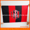Drapeau accrochant de club d'équipe de football