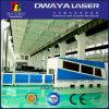 Machine de découpage de laser de fibre de précision de pipe en métal/machine de coupeur