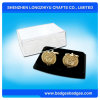 Morire Casting Gold Cufflinks con Box