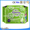 280mm Ultra Thin Good Absorptievermogen Sanitary Pads met Wings