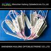 5050 brilhantes elevados módulo impermeável do diodo emissor de luz da lente