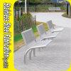 Kundenspezifischer Outdoor Street Edelstahl Seating Bench für Garten