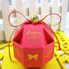 Kraftpapier Boxes Macaron Packaging Hot Sale Accept Paperboard New Design 8*8cm Candy Wedding Box Gift Box/Party Paper Favor