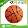 Basket-ball de bille de PVC estampé par logo respectueux de l'environnement de bille de rebondissement de PVC Promitional