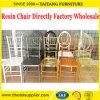Directo silla al por mayor del claro de la resina del lugar de la boda de la fábrica