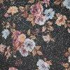El más nuevo brillo de las flores del acoplamiento de la fantasía para el cuero material de la parte superior de zapatos (HS-G2)