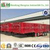 De Semi Aanhangwagen van de Vrachtwagen van de Vleet van de Aanhangwagen van de Vrachtwagen van de Omheining van de lading voor Verkoop