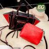 De Handtas van de Ontwerper van de Vrouwen van de Kleur van het Contrast van de manier Dame Bag Set Guangzhou Factory OEM Sy8095