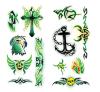 Tatuaje del arte de la etiqueta engomada del tatuaje de la transferencia del agua de la etiqueta engomada del tatuaje del tótem
