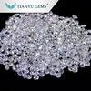 工場最もよい価格のダイヤモンドのラウンドカット永久に1匹の白い混戦Moissanite