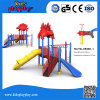 Equipamento ao ar livre do campo de jogos das crianças plásticas dos miúdos do parque/jogos ao ar livre do campo de jogos