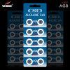 батарея AG9 клетки кнопки 1.5V 72mAh алкалическая