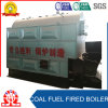 Chaudière allumée par charbon à chaînes horizontal de tube d'incendie de grille à vendre