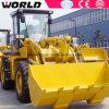 China maakte 5ton de Ce Goedgekeurde Zl50 Lader van het Wiel W156
