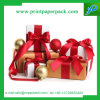 Картонная коробка коробки подарка напечатала коробку торта упаковки бумажную