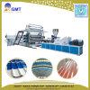 Extrusion ondulée de plastique de panneau de tuile de feuille de toit de la couche PVC+PP+Pet de Single+Multi