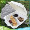 Togliere il contenitore biodegradabile di alimenti a rapida preparazione con il divisore